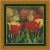 Kustom Krafts - Tulips & Monarch Butterflies THUMBNAIL