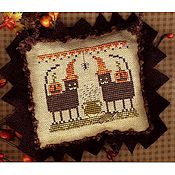"Homespun Elegance - A Halloween Year II - March ""Party Cats"""