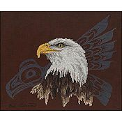 The Stitching Studio - Native Eagle