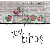 Jabco Just Pins - Hearts & Flowers