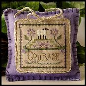 Little House Needleworks - Little Sheep Virtue #4 Courage THUMBNAIL