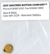 Jabco Button Pack - Country Cottage Needleworks - Reindeer Stables