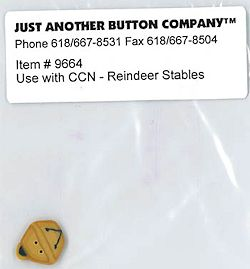 Jabco Button Pack - Country Cottage Needleworks - Reindeer Stables MAIN