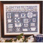 Rosewood Manor - China Blue Sampler