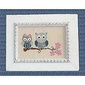 Cherry Hill Stitchery - Sweetheart Owls