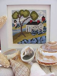 By The Bay Needleart - Seaside Blue MAIN