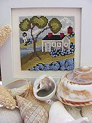 By The Bay Needleart - Seaside Blue
