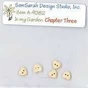 SamSarah Design Studio - In My Garden - Chapter Three Embellishment Pack