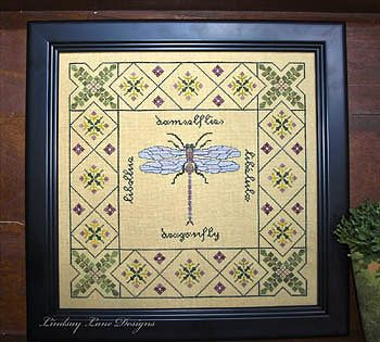 Lindsay Lane Designs - Dragonfly Garden MAIN