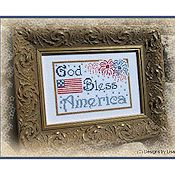 Designs By Lisa - God Bless America THUMBNAIL