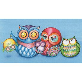 Heaven and Earth Designs - A Crazy Wonderful Owl Family MAIN