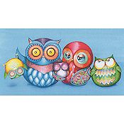 Heaven and Earth Designs - A Crazy Wonderful Owl Family