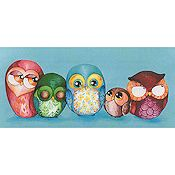Heaven and Earth Designs - Owl Family