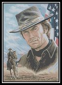 Cody Country Cross Stitch - Clint Eastwood - American Legend