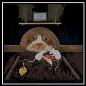 Cody Country Cross Stitch - Mouse House THUMBNAIL