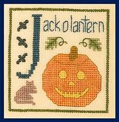 Elizabeth's Designs - J is for Jack O Lantern