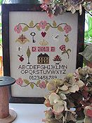 By The Bay Needleart - Simple Sampler THUMBNAIL