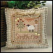 Little House Needleworks - Little Sheep Virtue #6 Simplicity THUMBNAIL