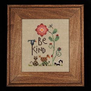 Heart In Hand Needleart - Be Kind MAIN