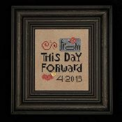 Heart In Hand Needleart - From This Day Forward THUMBNAIL