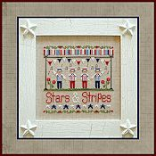 Country Cottage Needleworks - Stars & Stripes THUMBNAIL