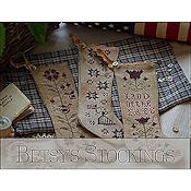 Plum Street Samplers - Betsy's Stockings THUMBNAIL