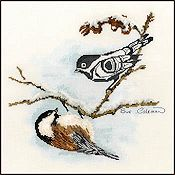 The Stitching Studio - Chickadee