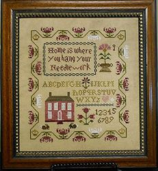 Abby Rose Designs - Home Is Where You Hang Your Needlework MAIN