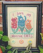 Val's Stuff - I Love My Bloomin' Cats