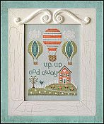 Country Cottage Needleworks - Up, Up and Away THUMBNAIL