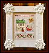 Country Cottage Needleworks - Santa's Village - Santa's Sleighworks