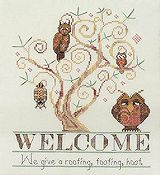 MarNic Designs - Owl Welcome