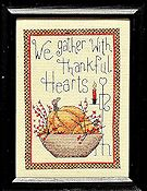 Bobbie G Designs - We Gather with Thankful Hearts