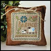 Little House Needleworks - Little Sheep Virtue #7 Patience