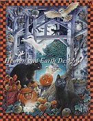 Heaven and Earth Designs - Mini Lesley's Cats At Halloween