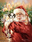 Heaven and Earth Designs - Mini Shih Tzu For Christmas