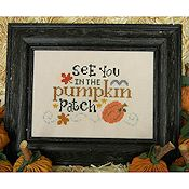 Cherry Hill Stitchery - See You In The Pumpkin Patch