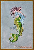 Cross Stitching Art - The Siren Of The Deep THUMBNAIL