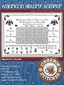 Cinnamon Stitches - American History Sampler THUMBNAIL