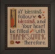 Heart In Hand Needleart - Thanksgiving Blessing THUMBNAIL