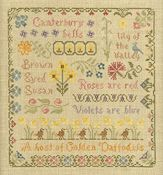 Elizabeth's Designs - Antique Flower Sampler THUMBNAIL