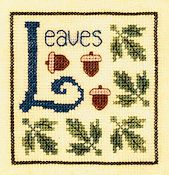Elizabeth's Designs - L is for Leaves