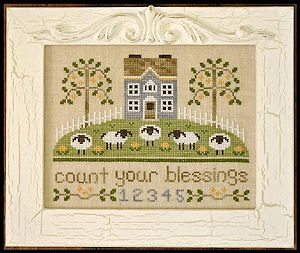 Country Cottage Needleworks - Count Your Blessings MAIN