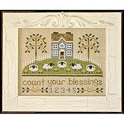 Country Cottage Needleworks - Count Your Blessings THUMBNAIL