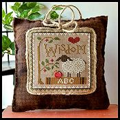 Little House Needleworks - Little Sheep Virtue #8 Wisdom THUMBNAIL