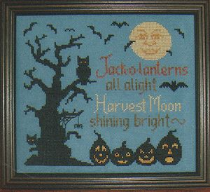 Waxing Moon Designs - All Hallows Eve #164 MAIN