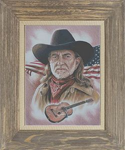 Cody Country Cross Stitch - Willie Nelson American Legend MAIN