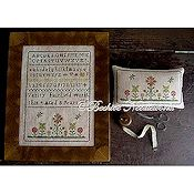Beehive Needleworks - Verity Fairfield Sampler & Pin Pillow THUMBNAIL
