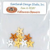 SamSarah Design Studio - Halloween Banners Embellishment Pack
