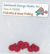 SamSarah Design Studio - Fish Stix! Embellishment Pack